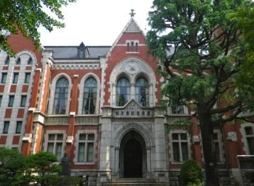 慶應義塾大学法学部がある三田キャンパス